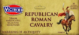 Victrix Republican Roman Cavalry: 28mm Plastic Miniatures