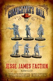 Jesse James Faction: 28mm figures