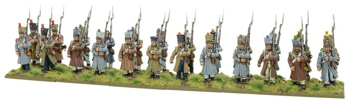 Plastic French Infantry