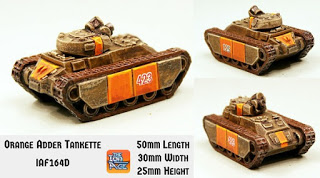 Orange Adder Combat Tankette