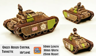 Green Adder Combat Tankette