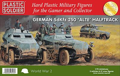 German sdKfz 250 'ALTE' HALFTRACK