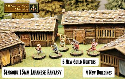 Guild Hunters and Buildings