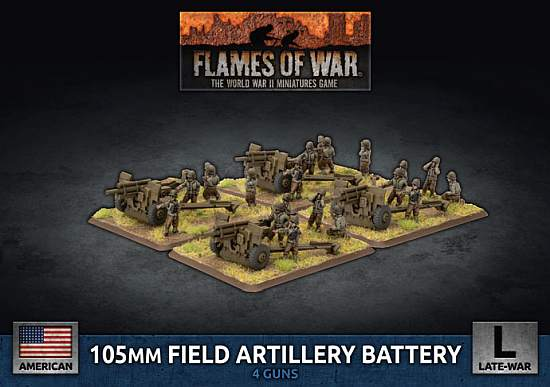 Flames of War – D-Day American Support Releases