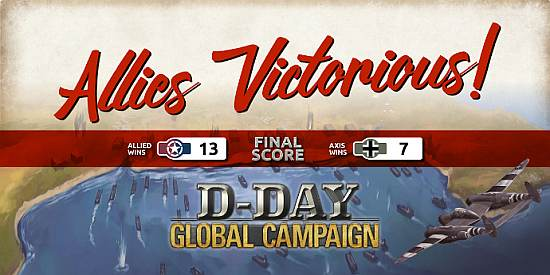The D-Day Global Campaign Has Ended