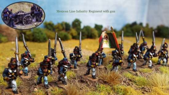 Mexican Line Infantry