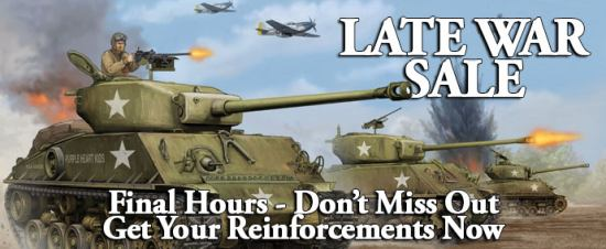 Flames of War: Last Days of the Late War Sale