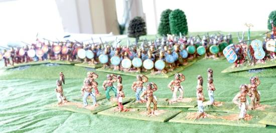 28mm Carthaginians and allies