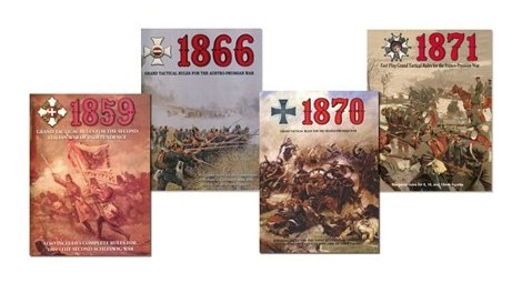 1859, 1866, 1870 and 1871: Rules Bundle cover