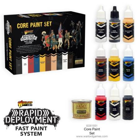 Warlord Games Core Paint Set