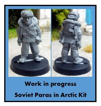 Classic Movie Miniatures Episode 3: Whiteout - Soviet Paras in Arctic Kit