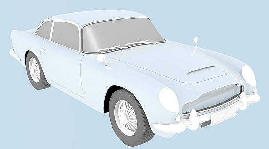 Classic Movie Miniatures Episode 3: Whiteout - Aston Martin DB5
