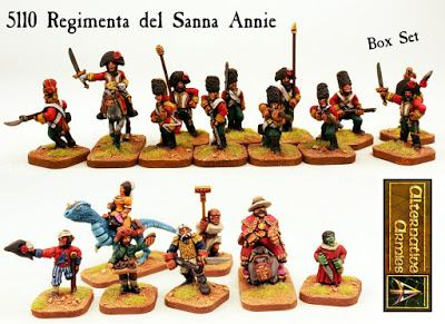 Regimenta del Santa Annie boxed set
