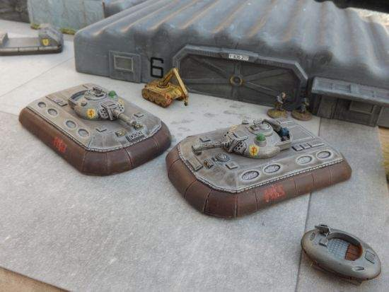 Early M2 Blower Tanks