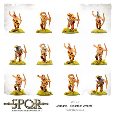 Germania - Tribesmen Archers