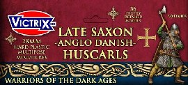 Huscarles – Late Saxons/Anglo Danes: 28mm Figures