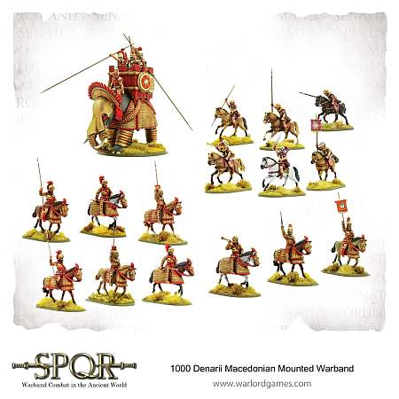 SPQR – 1,000-Denarii Macedonian Mounted Warband