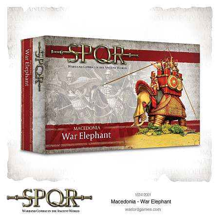 SPQR: Macedonia – War Elephant