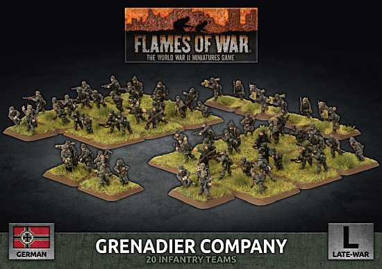 Flames of War – D-Day German Infantry Releases
