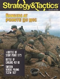 STRATEGY & TACTICS #323: Rangers at Pointe du Hoc (wargame)