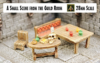 Small scene from the Guild Room
