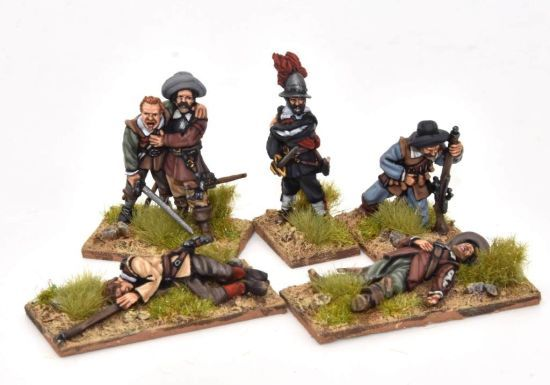 Dead and wounded Spanish tercios