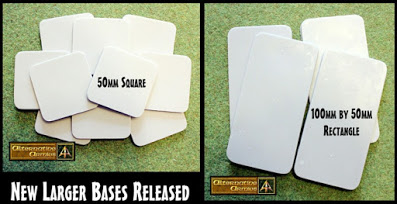 New, larger bases