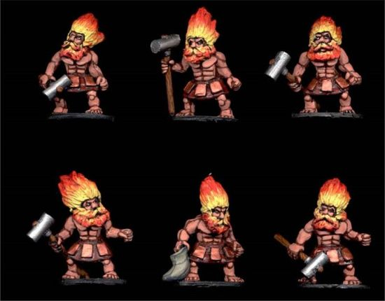 Fire Dwarves