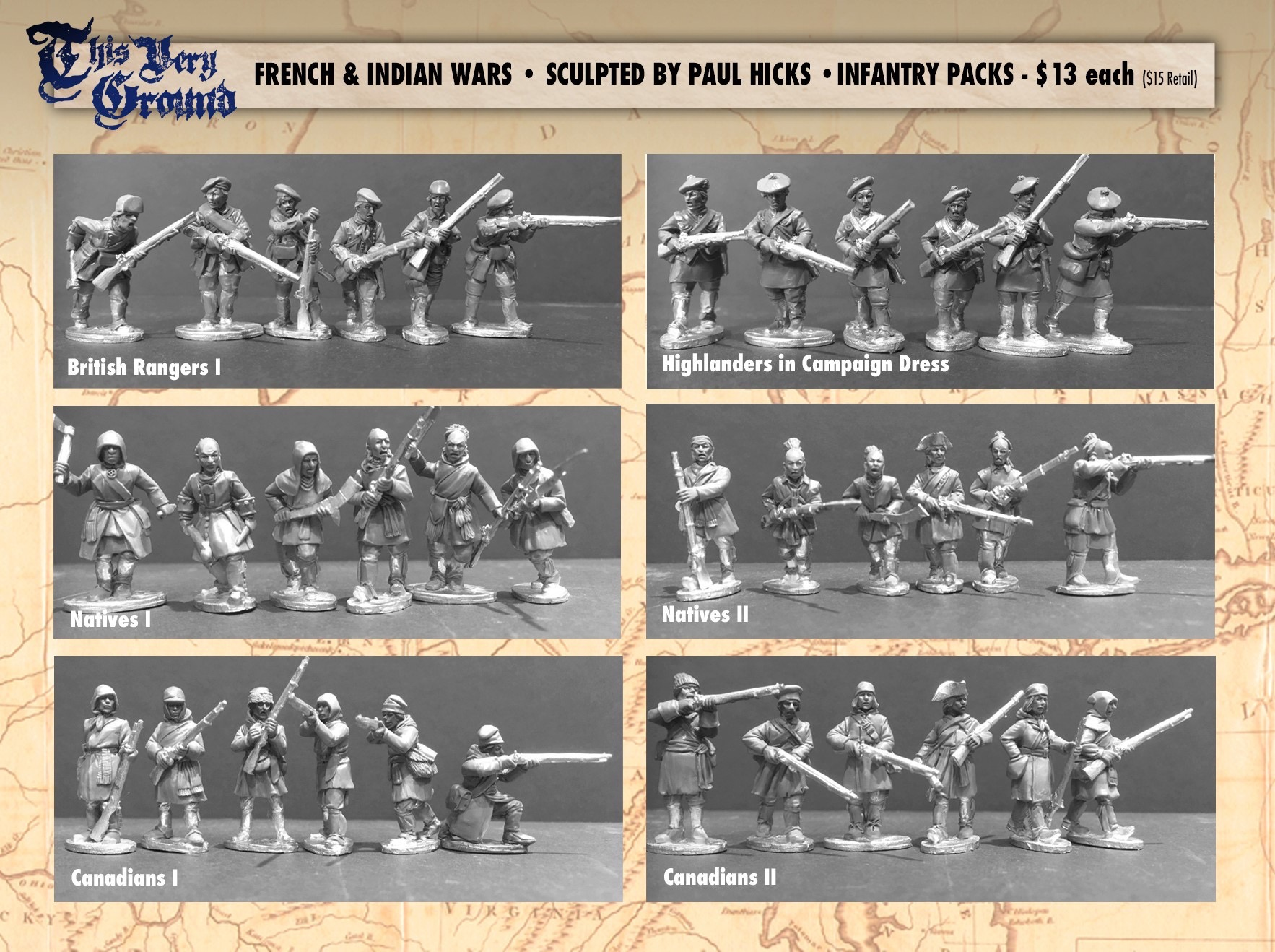 Brigade Games French and Indian War Kickstarter