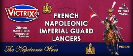 Victrix 28mm French Napoleonic Imperial Guard Lancers