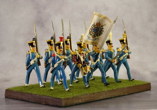 French Infantry 1824