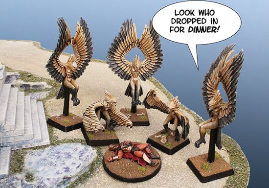 Harpies Dinner Party