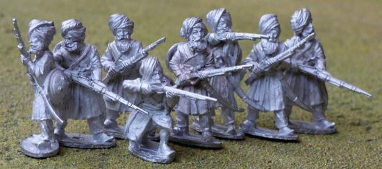 Sikh irregulars with matchlocks