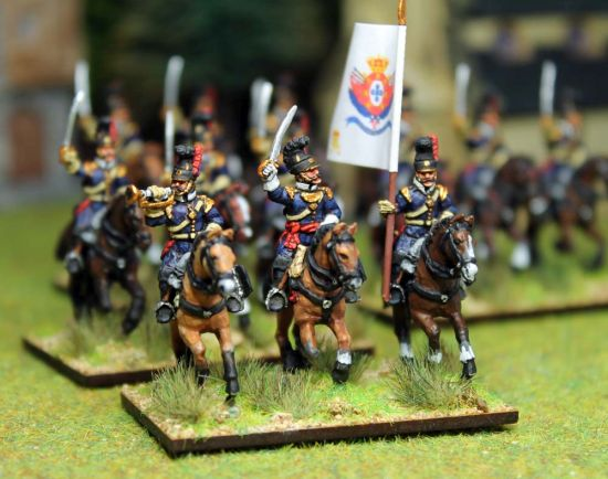 20mm Portuguese cavalry command