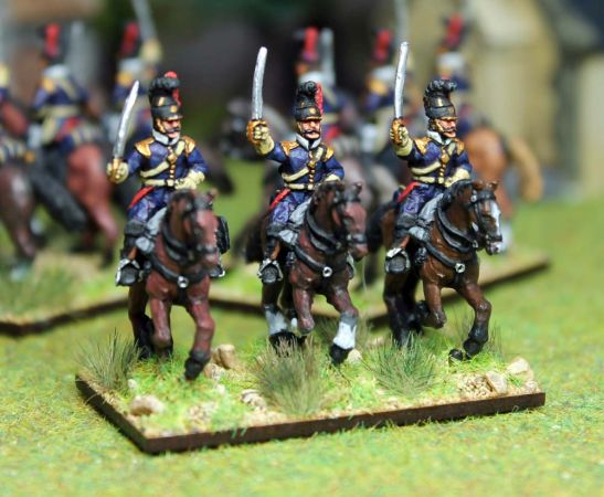 20mm Portuguese cavalry troopers