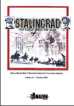 Stalingrad WWII rules from Amazon Miniatures
