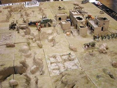 The basic layout (but the Chinese Fort is to the right, behind the camera)