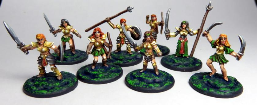 Some of the Amazons range from Lone Gunman Games