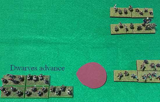 Dwarves advance