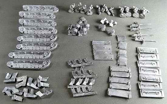 Mobelwagen metal parts