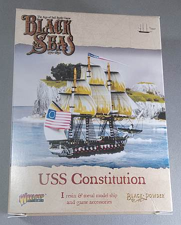 USS Constitution box