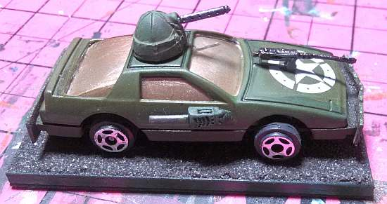 Army Car One, modified
