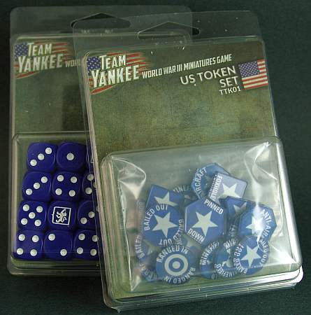 US dice and tokens