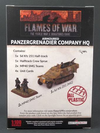 Armoured Panzergrenadier Company HQ