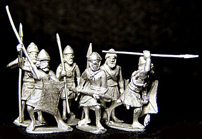 Assembled spearmen
