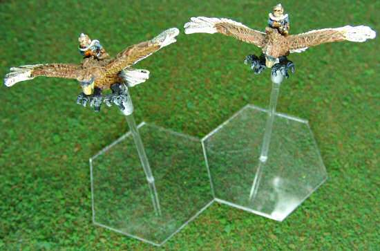 Eagles on the tabletop