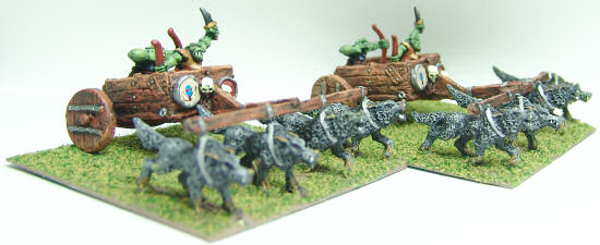Orc chariots