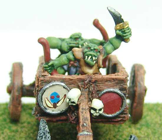 Orc chariot close-up