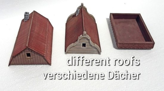 Modular building roofs