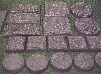 some of the different sizes available in the Basic Terrain texture